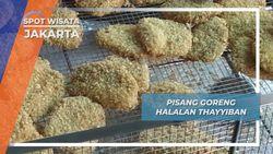 Pisang Goreng Halalan Thayyiban Jakarta, Rasa Bervariasi yang Diminati Pembeli