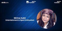 Cerita Nirina Zubir Bersepeda 100km, Berani Adu?