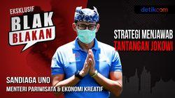 Blak-blakan Sandiaga Uno Jawab Tantangan Jokowi