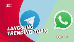 WhatsApp Paksa Kirim Data, Pengguna Ancam Pindah ke Telegram