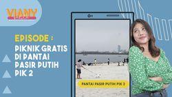 Viral, Ada Pantai Pasir Putih Ala Miami Beach Florida di PIK 2 Jakarta