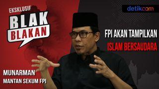 Blak-blakan Munarman Soal Pembekuan Rekening FPI