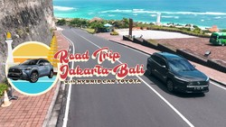 Mantap! Road Trip Jakarta-Bali with Corolla Cross Hybrid