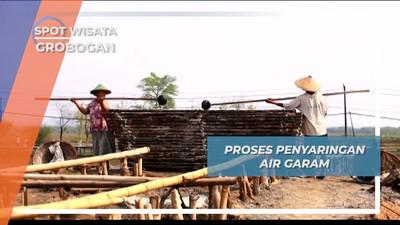 Glagah, Batang Bambu Penyaringan Air Garam Desa Kuwu Grobogan