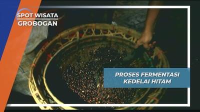 Fermentasi Kedelai Hitam, Pabrik Kecap Cap Udang Purwodadi Grobogan