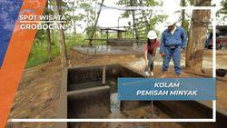 Kolam Pemisah Hasil Tambang Minyak Desa Lodok Grobogan