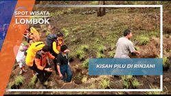 Pendakian Tidak Selamanya Mulus, Tim SAR Selalu Siap Membantu di Gunung Rinjani Lombok