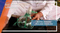Menenggelamkan Botol Kosong pada Tradisi Mulang Pakelem Danau Segara Anak Lombok
