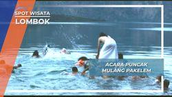 Acara Puncak Mulang Pakelem Di Danau Segara Anak Lombok