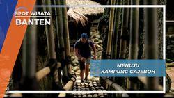 Jalan Setapak Indah Menuju Kampung Gajeboh Baduy Banten