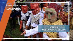 Pesta Adat Sekura, Lampung