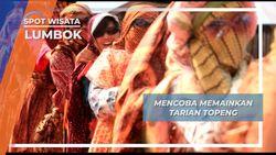 Fokus dan Kompak, Kunci Tarian Topeng Lumbok Lampung Barat