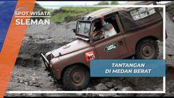 Petualangan Berkendara Melahap Trek Kali Gendol Gunung Merapi