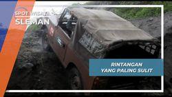 Tanjakan Menjadi Trek Paling Menanatang di Kali Gendol Gunung Merapi