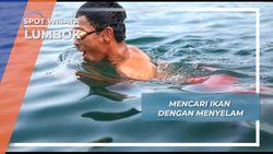 Menembak, Pilihan Lain Berburu Ikan Danau Ranau Lumbok
