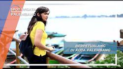Bervespa Sespan, Menjemput Mbak Vielda di Kota Palembang