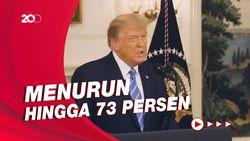 Hoaks Pemilu AS Menurun Usai Akun Medsos Donald Trump Ditutup