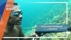 Senapan Kayu, Senjata Nelayan Berburu Lobster Kwatisore Papua