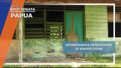 Pendidikan, Hal Mewah di Kwatisore Papua
