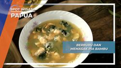 Bia Bambu, Kuliner Nikmat ala Kwatisore Papua