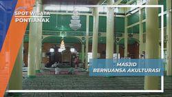 Masjid Jami Sultan Syarif Abdurrahman Pontianak, Perpaduan Budaya Masjid Demak