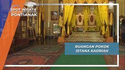 5 Ruangan Pokok Simbol Kemegahan Istana Kadriah, Pontianak