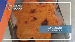 Kue Bingke, Kudapan Penjamu Tamu Kesultanan Pontianak