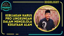 Denny Indrayana: Ramah Investasi Jangan Lupa Ramah Lingkungan