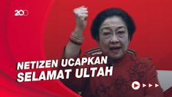 Megawati Ultah, #DirgahayuBuMega Trending di Twitter
