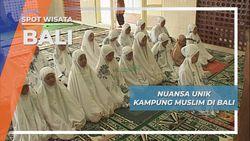 Suasana Unik Kampung Muslim Terbesar di Pulau Bali