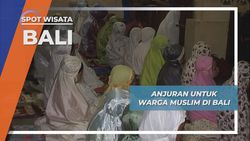 Anjuran Bagi Warga Muslim  di Desa Pegayaman, Buleleng, Bali
