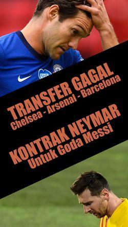 Kontrak Baru Neymar Untuk Goda Messi, Transfer Segitiga Gagal