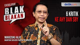 Marzuki Alie Blak-blakan Kritik AHY dan SBY