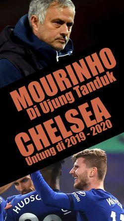 Mourinho di Ujung Tanduk, Chelsea Untung di 2019-2020