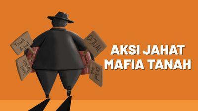 Akal Bulus Mafia Tanah Rebut Sertifikat