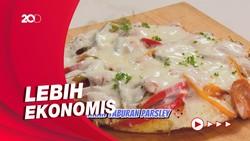 Masak Masak: Resep Pizza Nasi Mozarella untuk Si Kecil