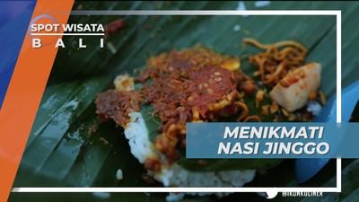 Menikmati Makanan Siap Saji Khas Bali yang Dikemas Daun Pisang