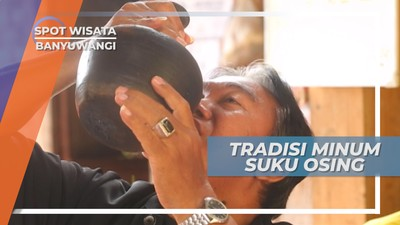 Minum dari Kendi Untuk Melatih Kesabaran, Tradisi Suku Osing Banyuwangi