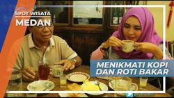 Menikmati Roti Bakar dan Kopi, Menu Ringan Santap Malam, Medan