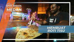 Membuat Roti Tisu Super Kilat, Hanya Butuh Waktu 2 Menit, Medan