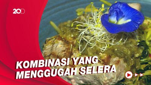 Bikin Laper: Menjajal Steak Tuna Bunga Pepaya di Blue Jasmine
