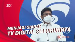 Kominfo Hentikan Siaran TV Analog Paling Lambat November 2022