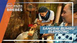 Sangrai Bumbu Blengong, Kunci Cita Rasa Blengong yang Lezat, Brebes