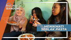 Menikmati Sensasi Pedas Kriuk Seblak Pasta Bandung