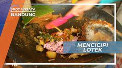Lotek Bandung, Kuliner Favorit dari Sudut Kota