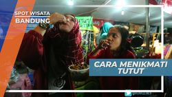 Diseruput, Cara Unik Menikmati Tutut Batu Hitam, Bandung