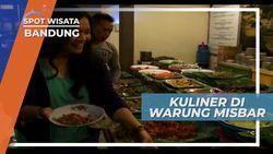 Berbagai Menu Rakyat di Warung Misbar Menggoda Lidah dan Bikin Betah, Bandung