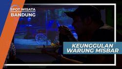 Pengalaman Bersantap Berbeda, Dijamin Tak Bubar Walau Gerimis, Bandung