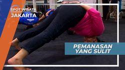 Gerakan Sulit Brazilian Ju-jitsu Saat Pemanasan, Jakarta