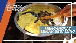 Direndam Semalaman, Cara Mengangkat Lemak Daging, Lombok